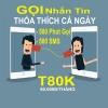 Đăng ký gói T80K Viettel để thỏa thích gọi và nhắn tin